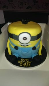 3d Minion Cake - quote celebration 383