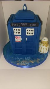 Dr Who cake - quote celebration 492