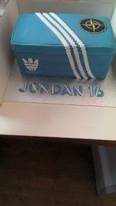 Shoe Box Cake - quote celebration 409