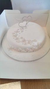 Wedding Renewal Cake - Quote Celebration 435