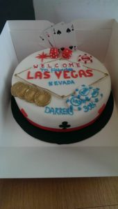 Las Vegas Cake - Quote Celebration 443