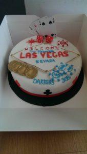 Las Vegas Cake - Quote Celebration 443
