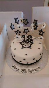 Star birthday cake - quote celebration 482