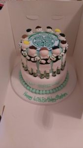 Celtic football cake - quote celebration 489