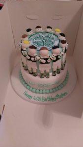 Celtic football cake - quote celebration 489
