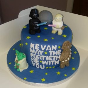 Star Wars Celebration cake - quote celebration 514