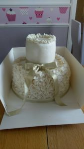 Ruffle celebration cake - quote celebration 510