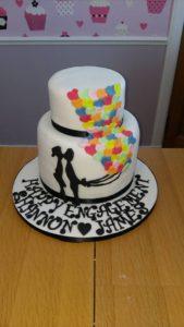 Engagement Cake - quote celebration 517