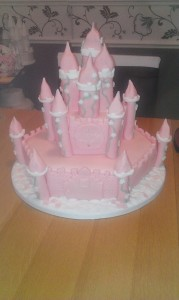 Fairy Castle (no 3) quote cake 99