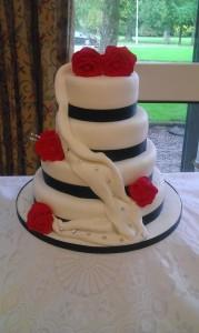 4 tier Versace Cake - quote Versace cake