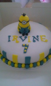 Minion cake - quote cake 107