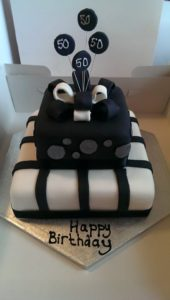 Celebration Two-Tier Cake - Quote Celebration 417