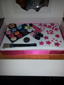 Mac Make-Up Cake - quote Mac make -up