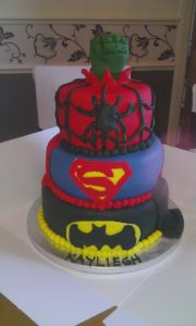 Superhero Cake - quote celebration 256