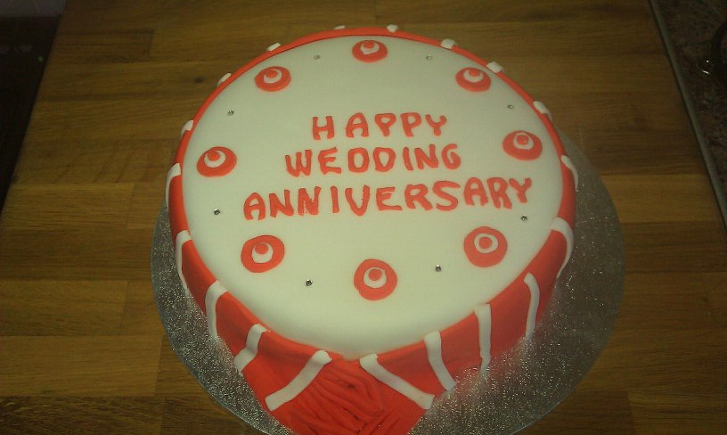 Cake By Design Aberdeen : Wedding Anniversary Celebration Cakes Cakes By Fiona Bird