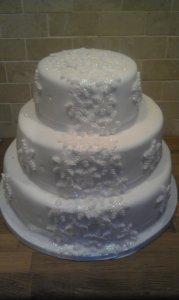 Snowflake 2 Cake - quote Snowflake 2 cake