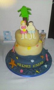 Beach Cake - quote Beach cake