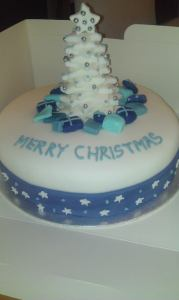Christmas Tree cake - quote Christmas 6